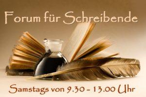 Geschichten- und Textforum, samstags von 9.30 - 13.00 UHr